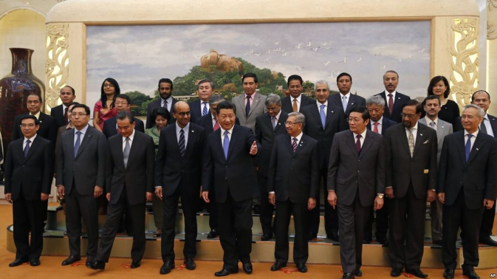 The founding members of the AIIB. Source: VOA