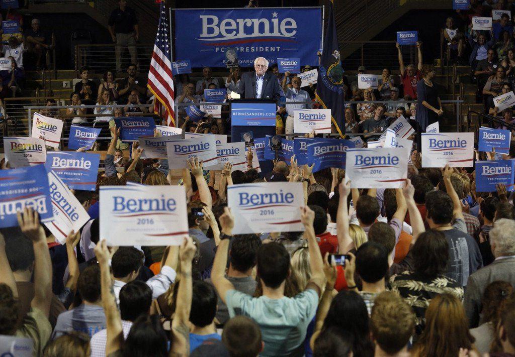 Bernie Sanders Rallies Voters in Portland, Maine
