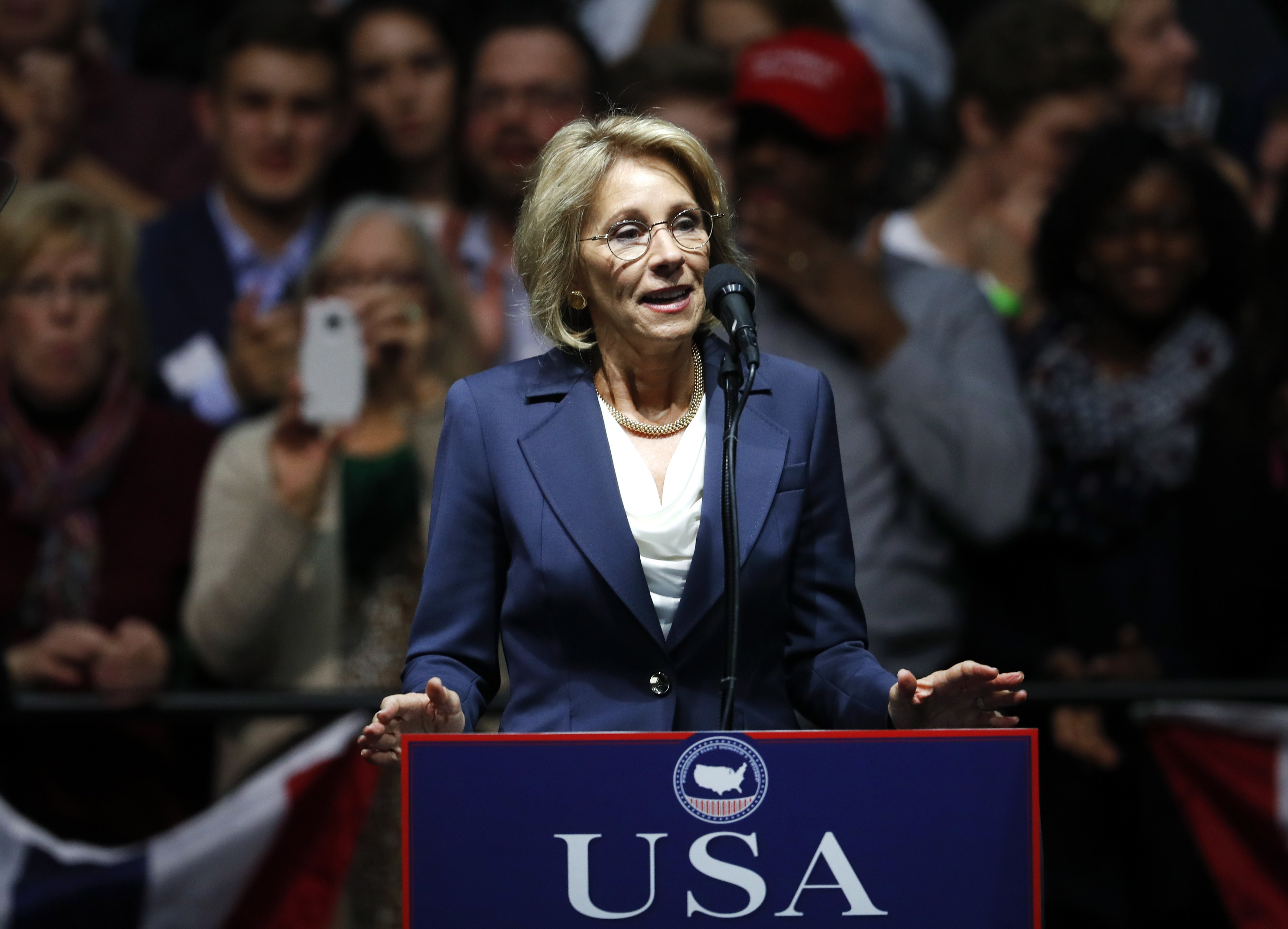 Trumps Education Pick Says Reform Can >> Make Education Great Again