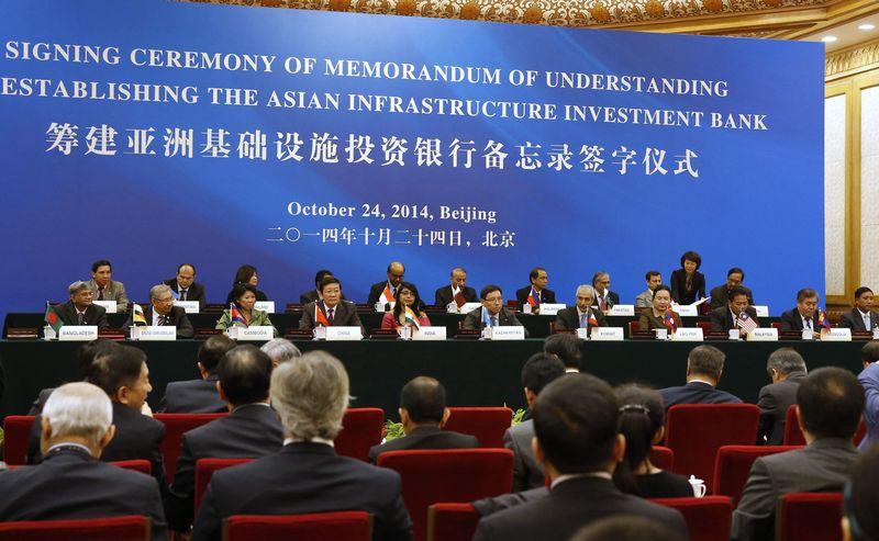October 24, 2014: 21 countries sign Memorandum of Understanding to establish the AIIB (Takaki Yajima/Pool: Reuters)