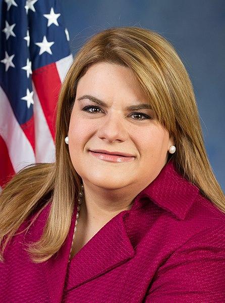 Puerto Rico's congresswoman: Jenniffer Gonzalez. Source: Wikimedia Commons