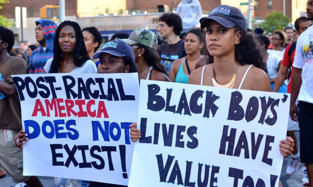 Black Lives Matter Highlighting the Myth Of A Post Racial America