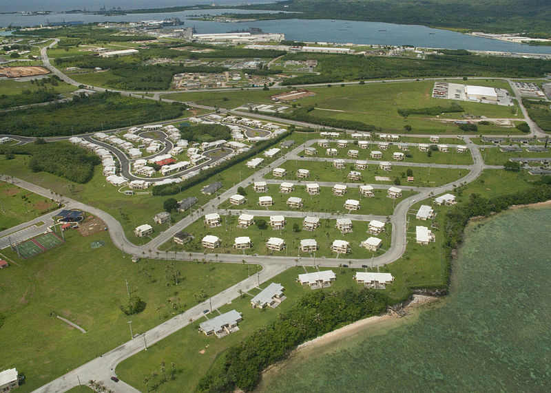 A Navy base in Guam. Source: Wikimedia Commons