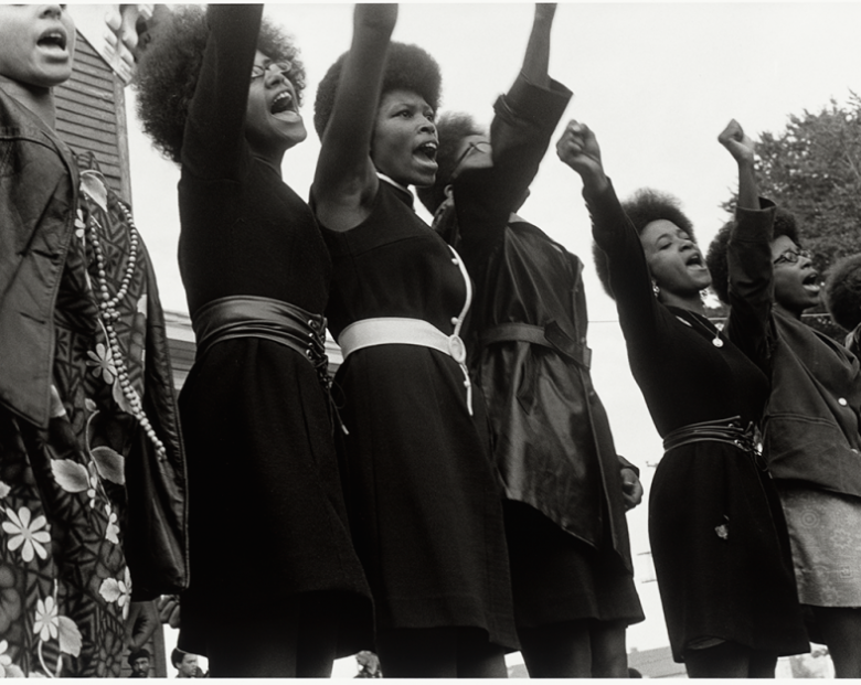 Black Panthers at the Free Bobby Huey Rally in Oakland https://nmaahc.si.edu/explore/stories/collection/seeing-black-women-power