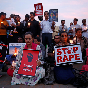Public protests after the Asifa Bano gang rape case Source: Times of India