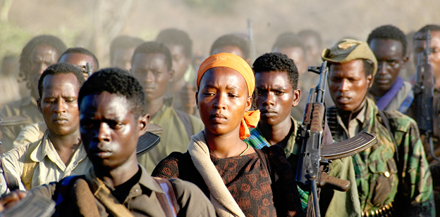 Members of the Oromo Liberation Front.  Source: Jonathan Alpeyrie/Creative Commons