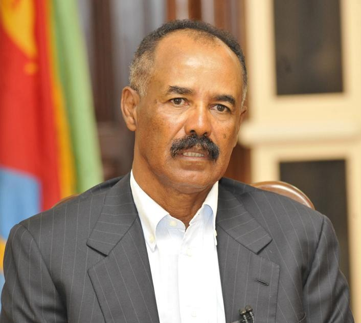 President Isaias Afwerki during an interview. Source: News.et