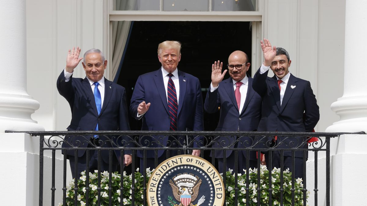 The men who signed the Abraham Accords