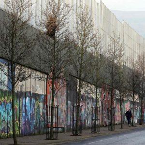 Peace Walls in Belfast